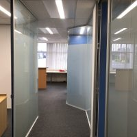 Office Space - Window Frosting