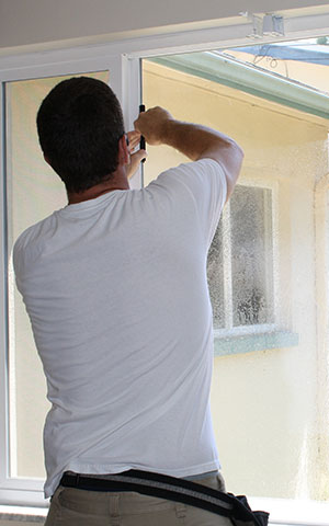 Window Safety Film installation