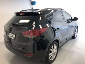 Hyundai Taillight tinting - after